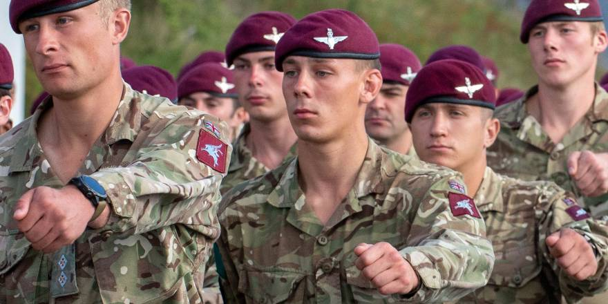 Image result for british army parachute regiment
